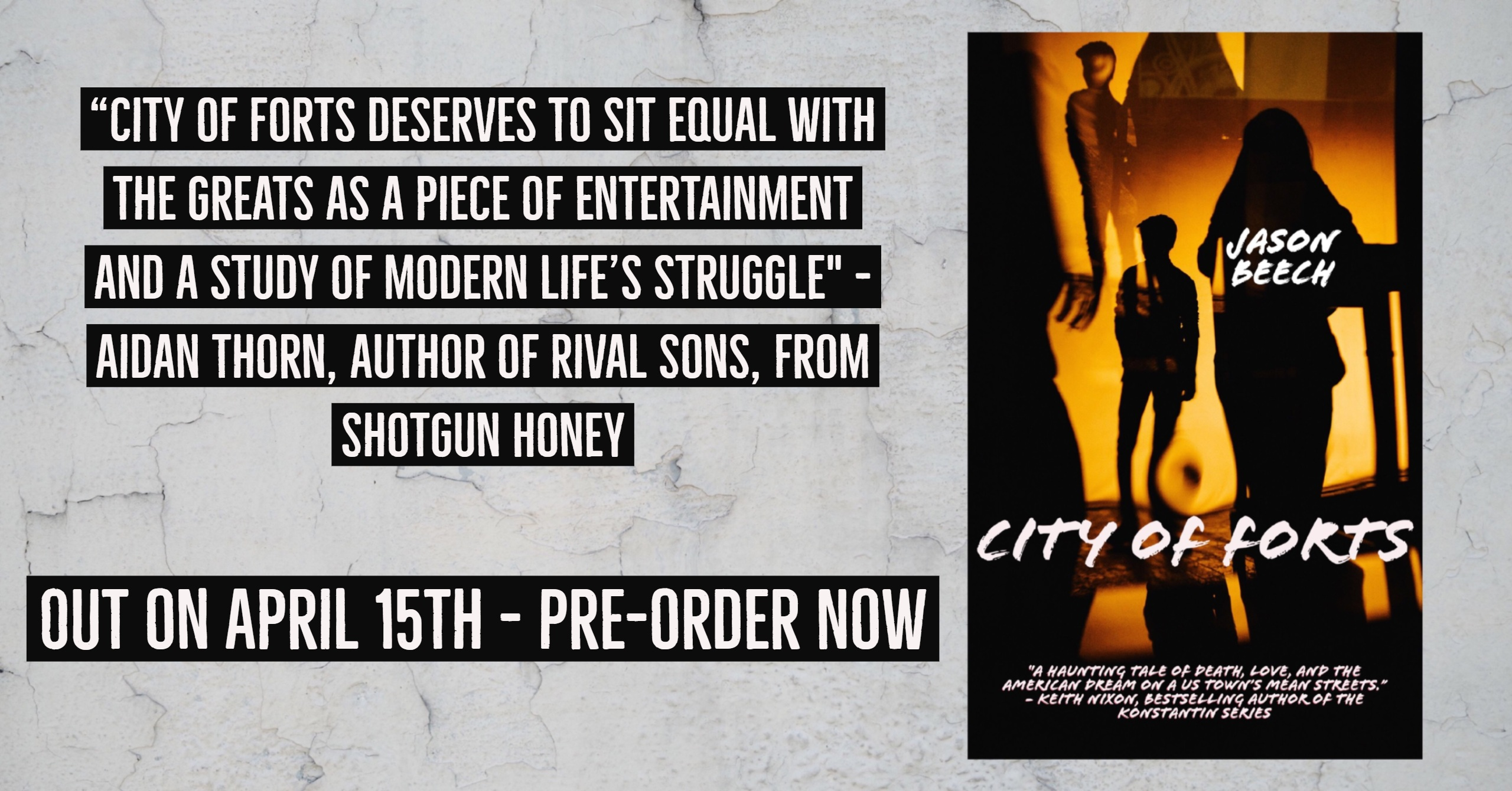City of Forts promo - Aidan Thorn
