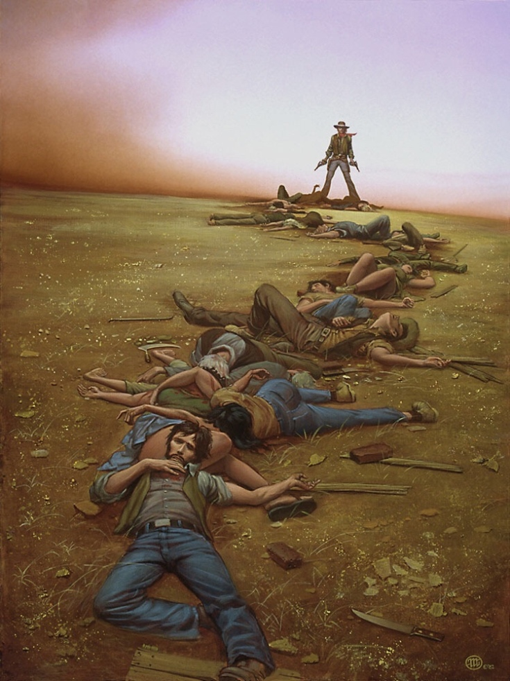 Buy prints of the book via Michael Whelan's website.